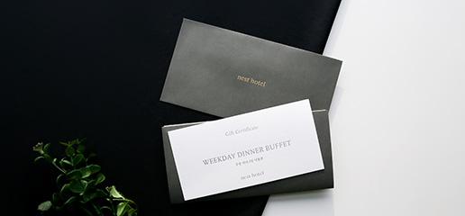 플라츠 레스토랑 뷔페 상품권 ㅣ Buffet Gift Certificate